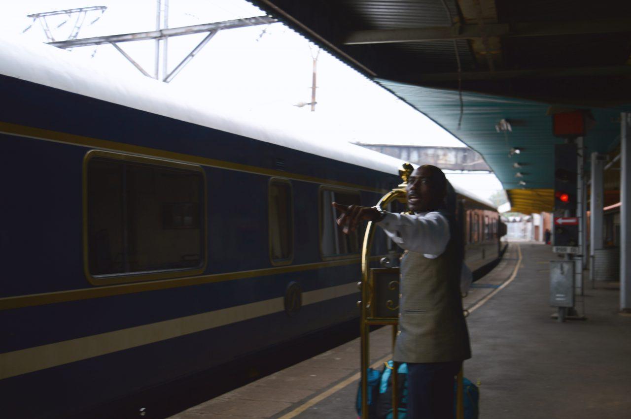 Embarcando no Blue Train.