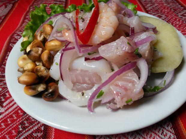 Ceviche Misto do Sabor Latino. Foto: divulgação