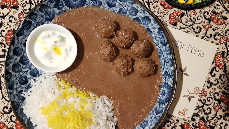 amigos do rei, jantar secreto, culinária persa, são Paulo