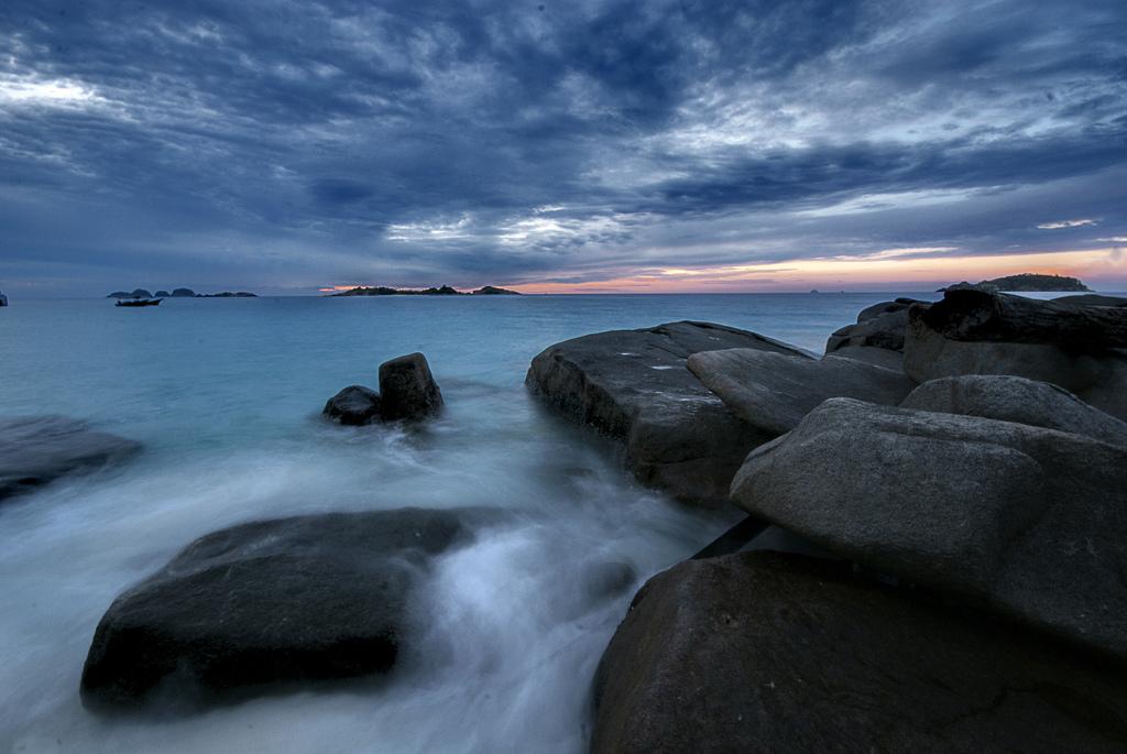 Ilha Kalong. Foto: Fairuz Othman