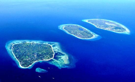 3 Ilhas Gilli. Foto cortesia TripAdvisor