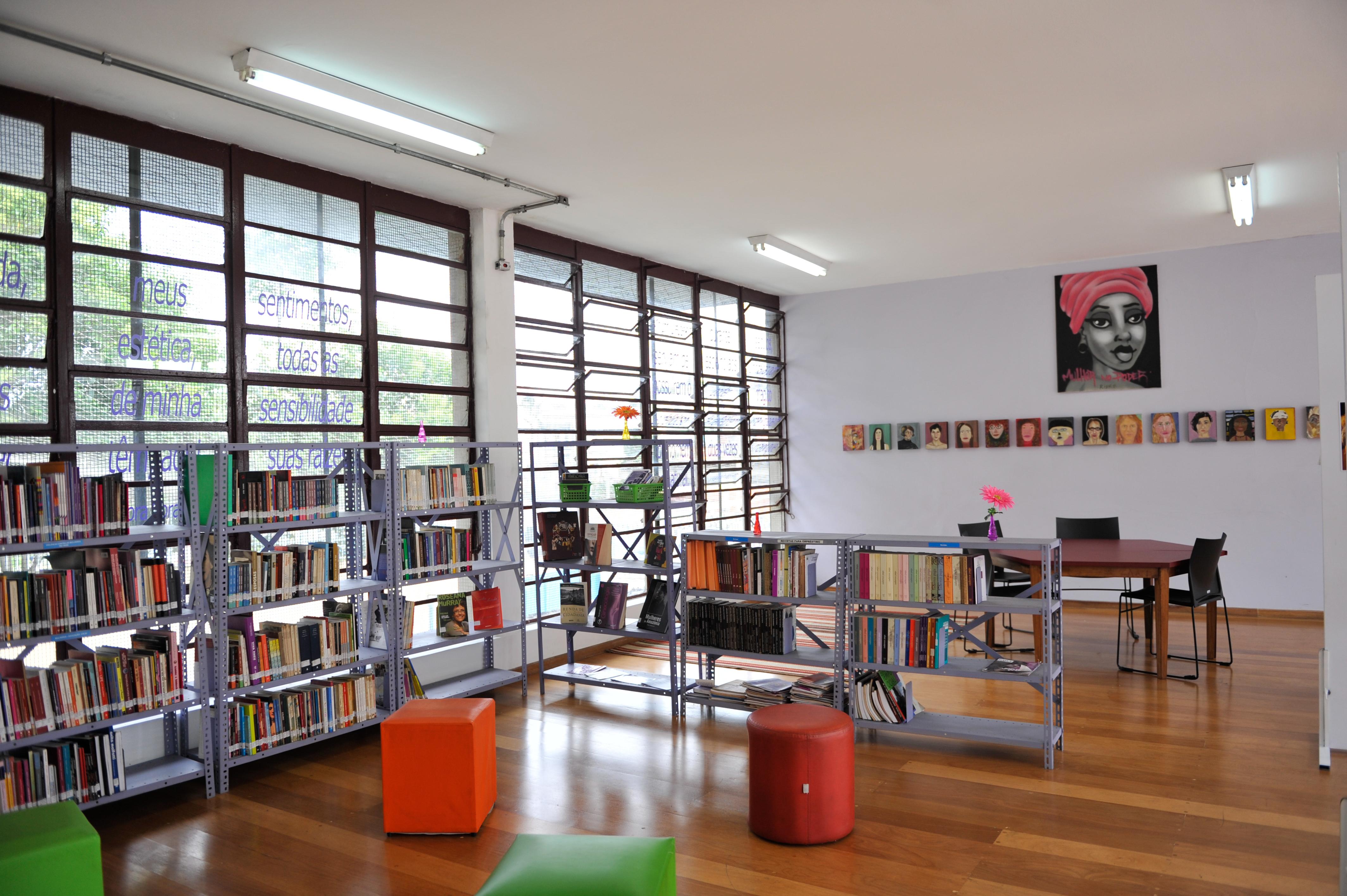 aparelhos culturais, biblioteca, são paulo, cora coralina