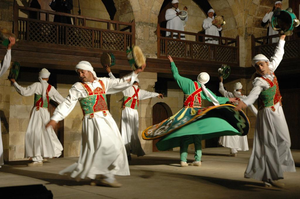 Dança Sufi: Foto Alyssa Bernstein