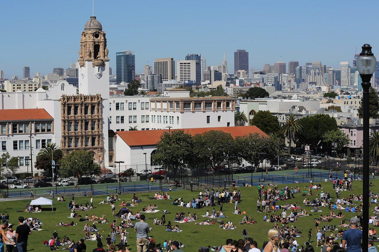 Dolores Park - Mission - San Francisco