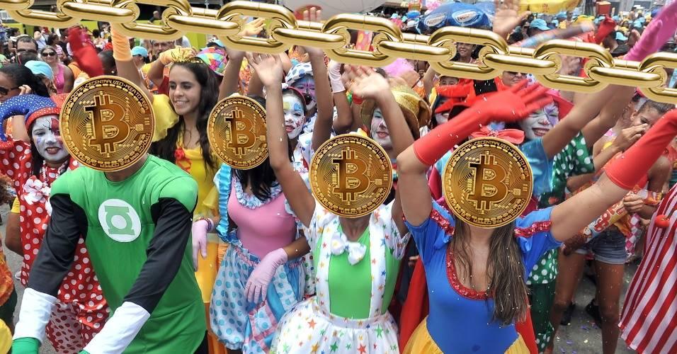 Carnaval São Paulo 2018. Bloco Chain