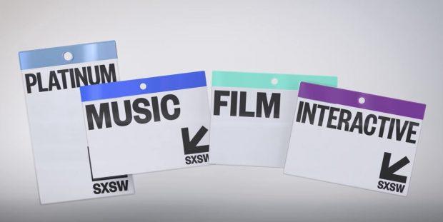 SXSW Badges. Foto: Divulgação