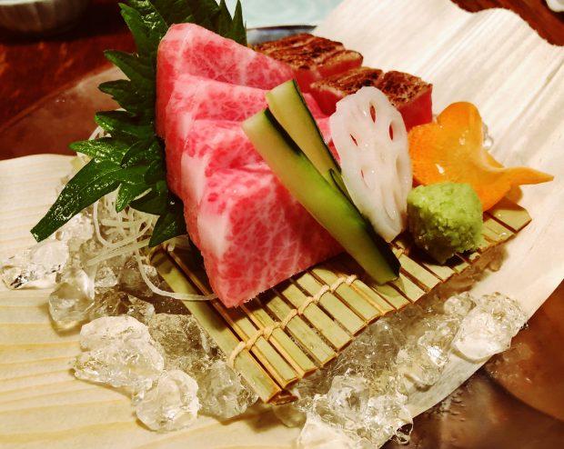 O delicioso toro do Kanae, Shinjuku.