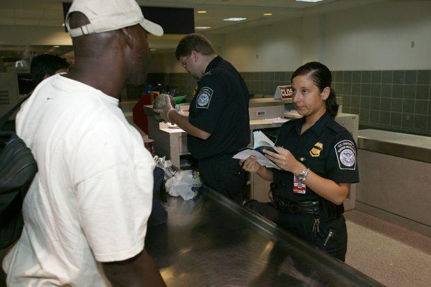 imigração, controle de passaporte
