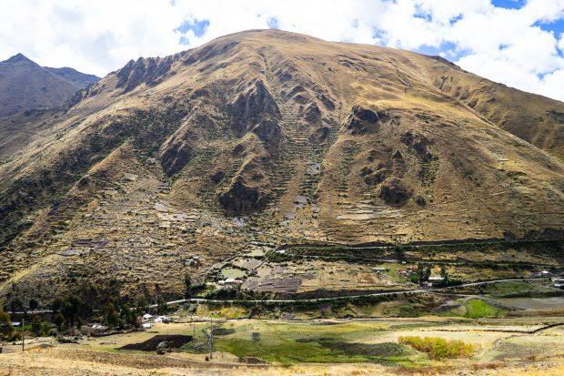 A área em volta do Huacauasi Lodge, Peru.