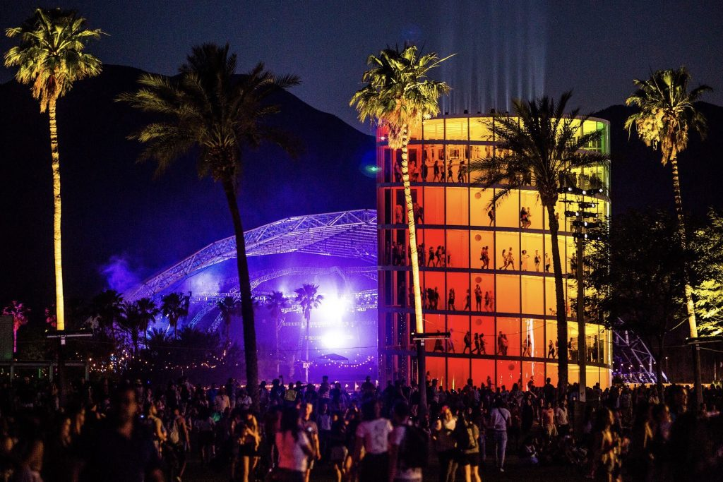 Coachella 2018. Spectra by Newsubstance