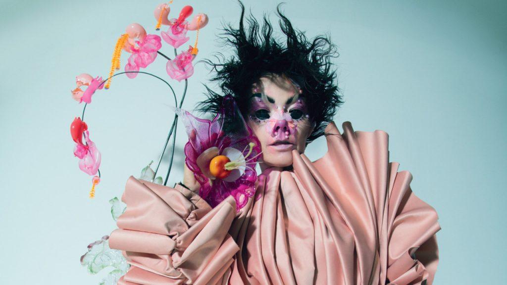 Björk, uma das headliners do Primavera Sound 2018. F