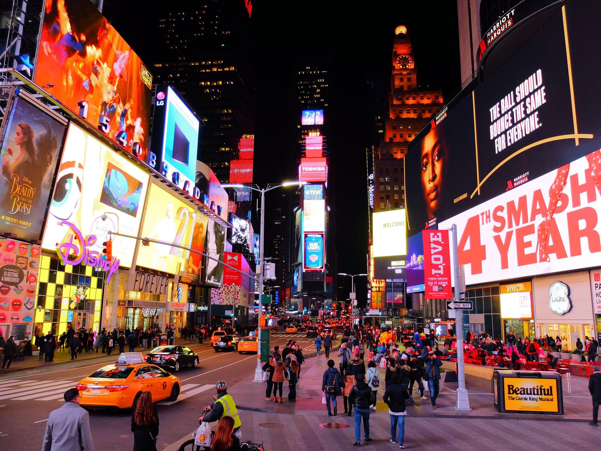 guia básico de nova york, times square