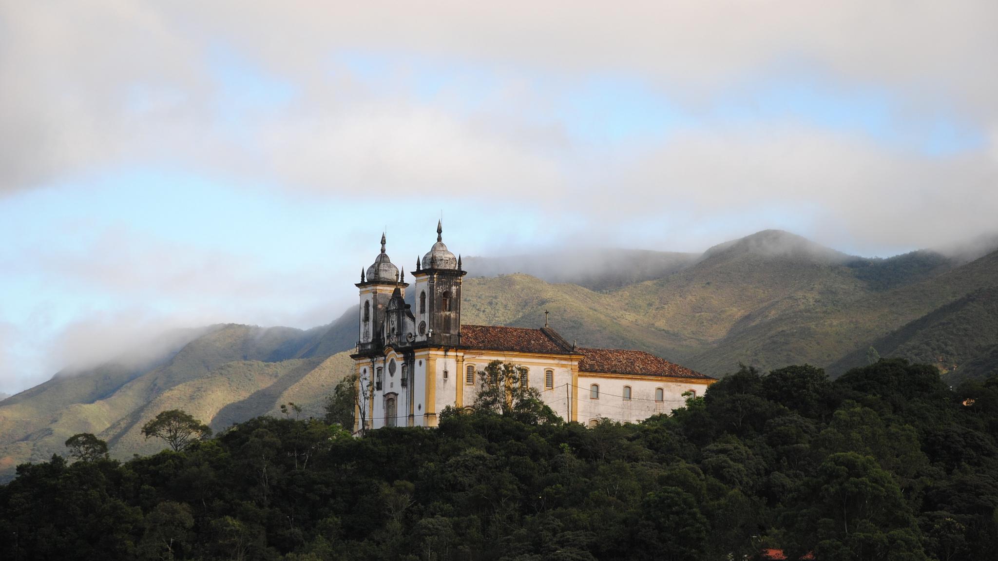 ouro preto, inverno no brasil