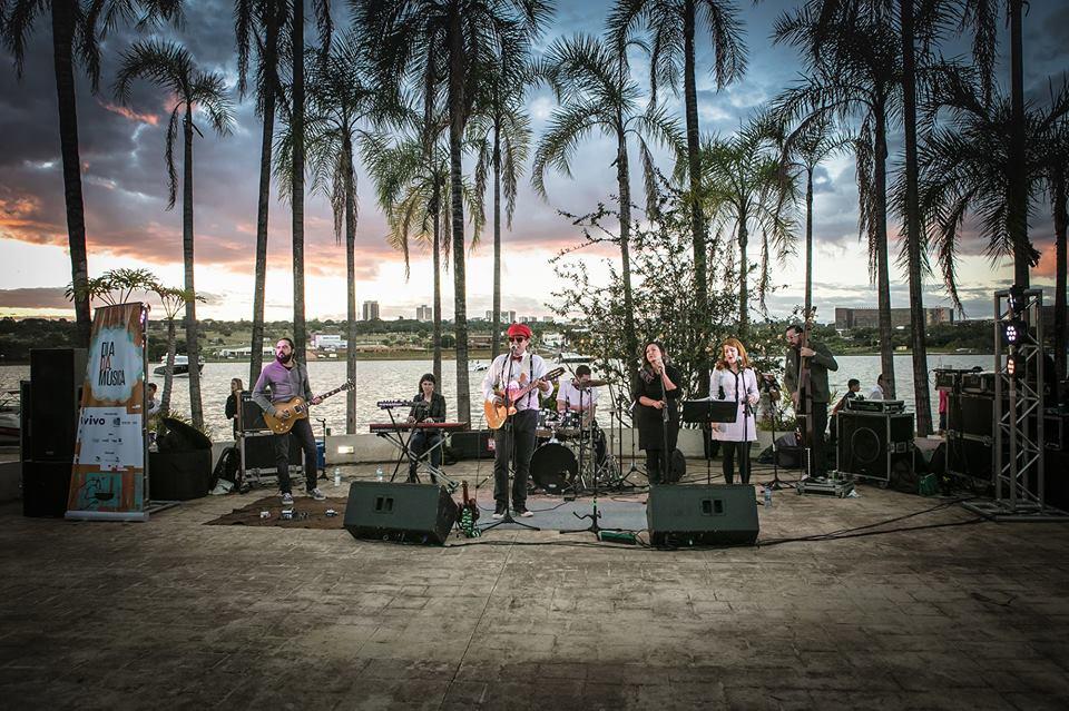 Palco da Música na Árvore, Brasília.