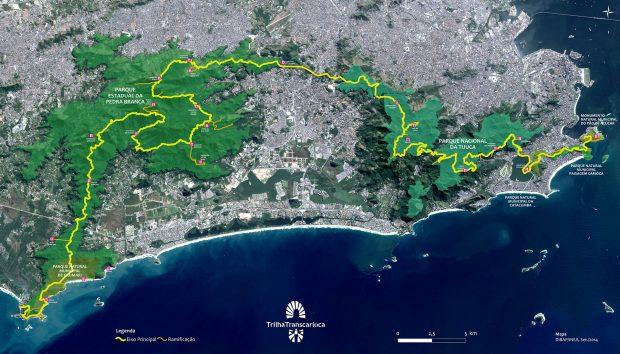Mapa Transcarioca