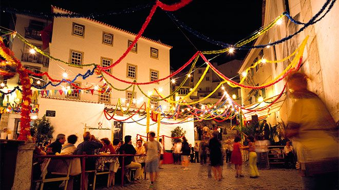 festas dos santos populares, lisboa