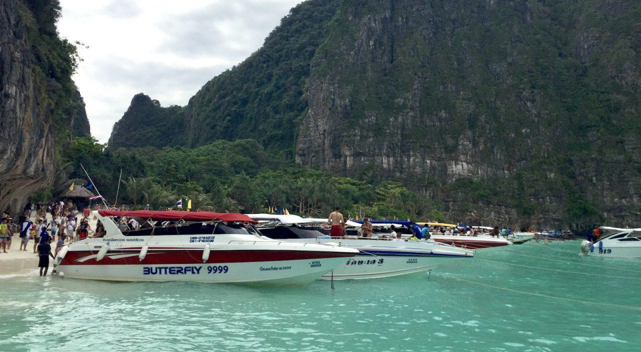 maya bay, koh phi phi, tailândia