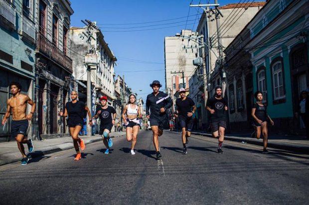 A Cria Crew no Rio de Janeiro (foto: Matheus Rodrigues)