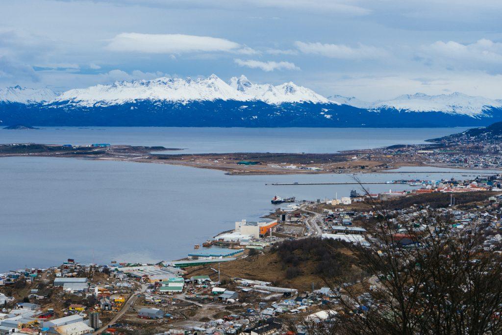 Bahia de Beagle, Ushuaia, vista do hotel Arakur. Foto: Lalai Persson
