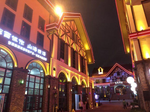 Estruturas Qingdao Beer Festival. Foto: Maria Claudia Pompeo