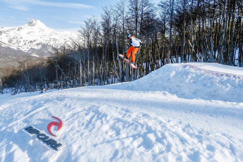 Cerro Castor Ushuaia - Snowpark. Foto: divulgação