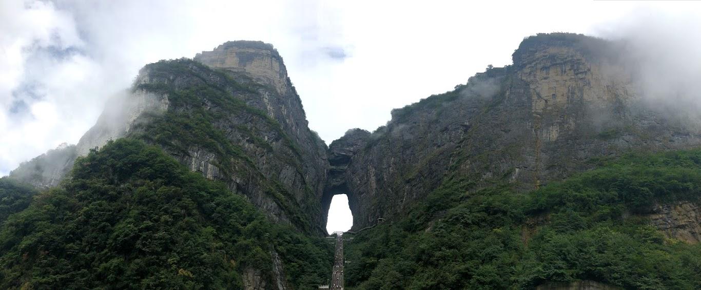 Tianmen Mountain, Porta do Céu. Foto: Maria Claudia Pompeo