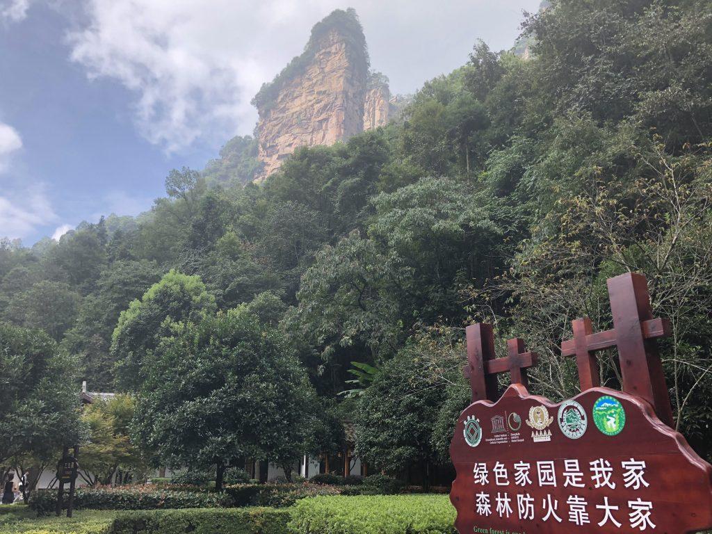 Zhangjiajie National Forest Park. Foto: Maria Claudia Pompeo
