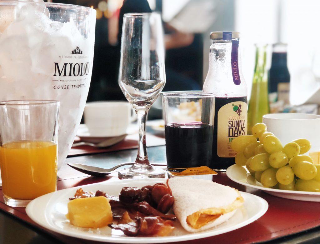 O café da manhã do Nobile Suítes Del Rio Petrolina. Foto: Lalai Persson
