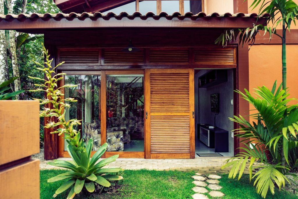 A nossa casa por 4 dias em Itamambuca, em Ubatuba / airbnb. Foto: Ola Persson