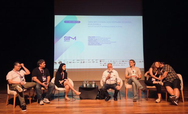 DATA SIM e Sympla: quantos festivais de música tem o Brasil. Foto da mesa participante por Lalai Persson