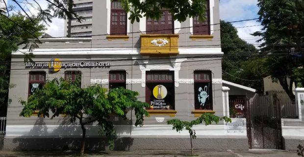 livraria da praça, praça de casa forte, livrarias brasileiras, recife, livrarias do brasil