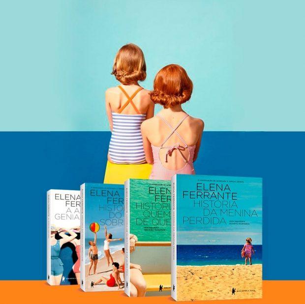 10 livros pra ler no verão: Tetralogia de Elena Ferrante
