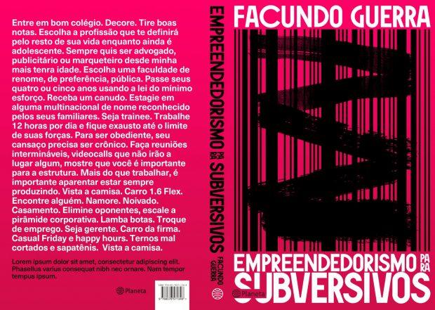 10 livros pra ler no verão: Empreeendedorismo para Subversivos, Facundo Guerra