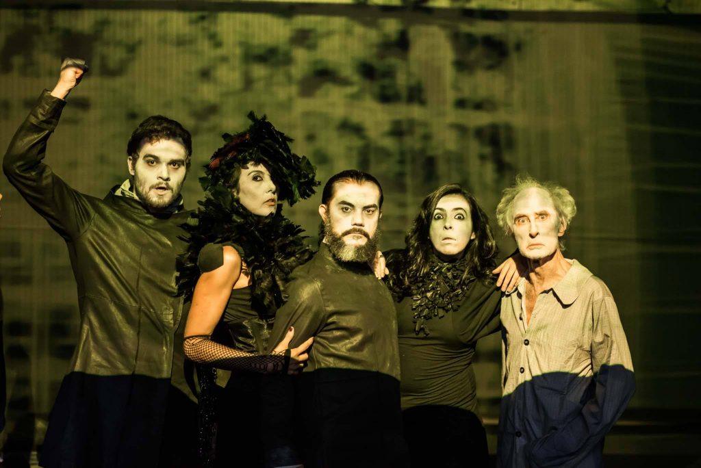 Cia Nova de Teatro - A Cripta de Poe. Foto: divulgação