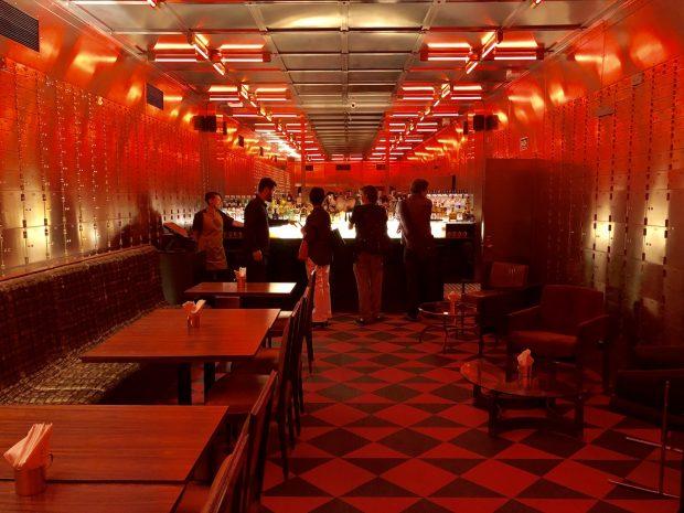 Farol Santander, Bar do Cofre SubAstor, Banespão