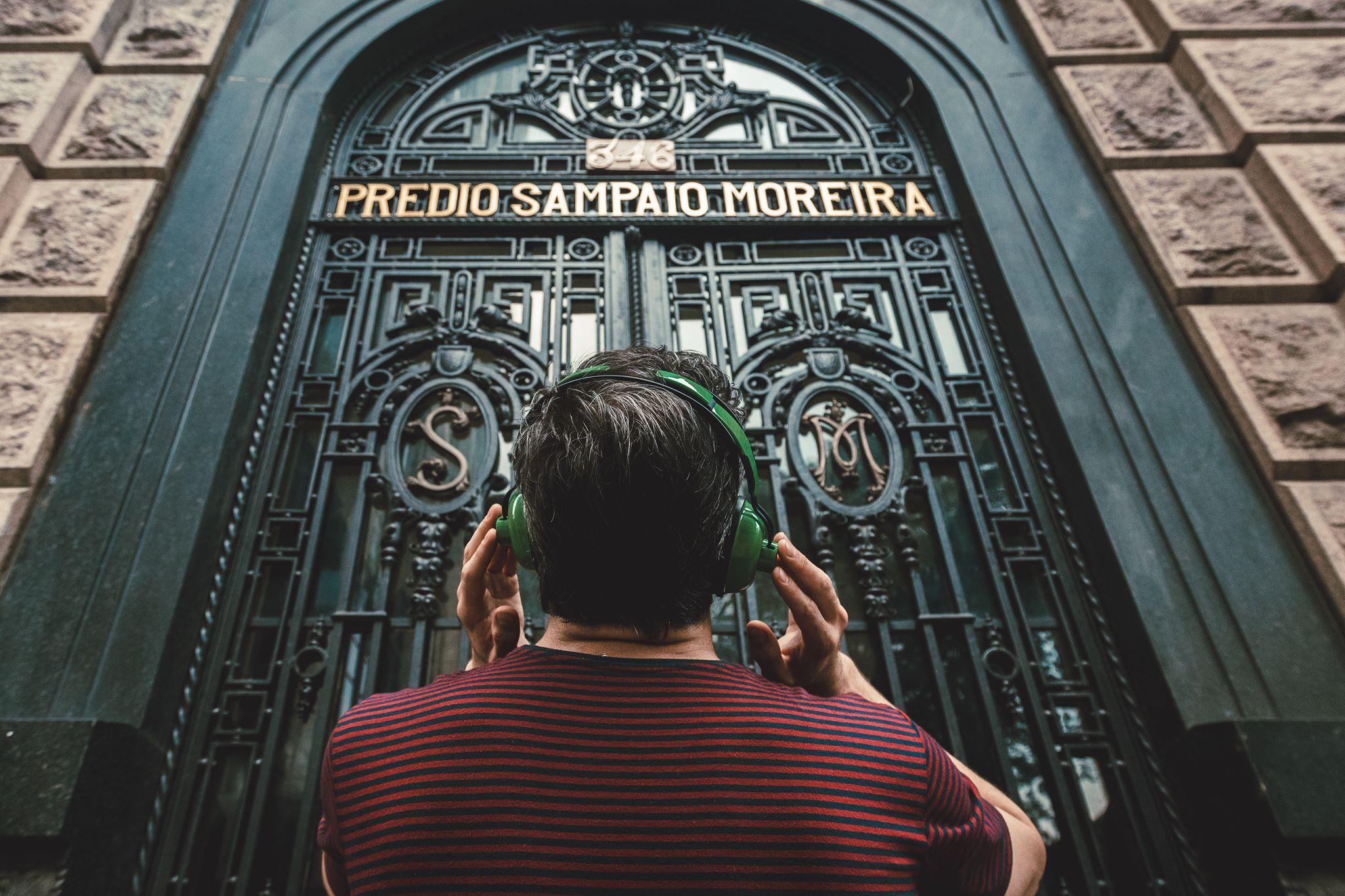 Frequência Ausente 19Hz no Centro Histórico de São Paulo. Foto: divulgação