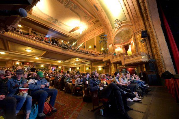 SXSW - Paramount Theatre. Foto: Michael Loccisano.