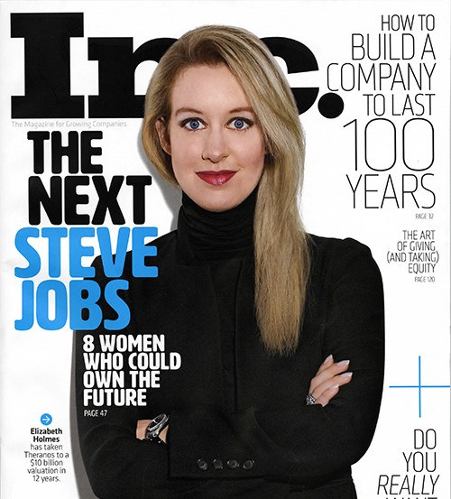 Elizabeth Holmes, Bad Blood, Theranos