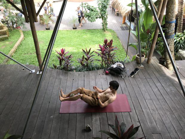 Como é o Yoga Barn