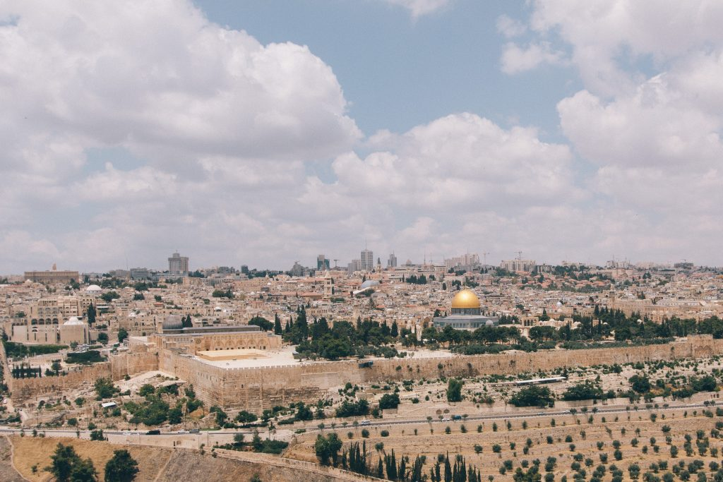 Jerusalém. Foto: Robert Bye / Unsplash