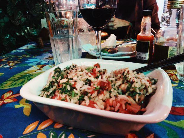 O saborosíssimo arroz de polvo para comer de joelhos d'O Mirandês. Foto: Lalai Persson