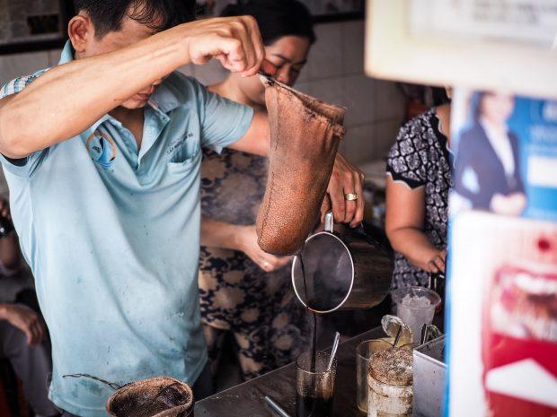 Vietnã, o segundo país que mais exporta café no mundo.
