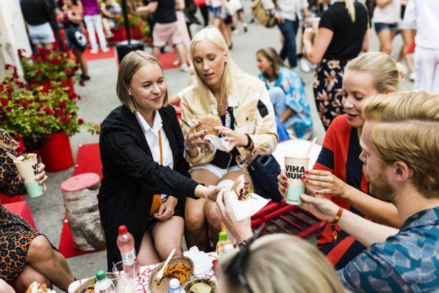 Flow Festival, Helsinki, Finlândia - público. Foto: Andrew Taylor / divulgação