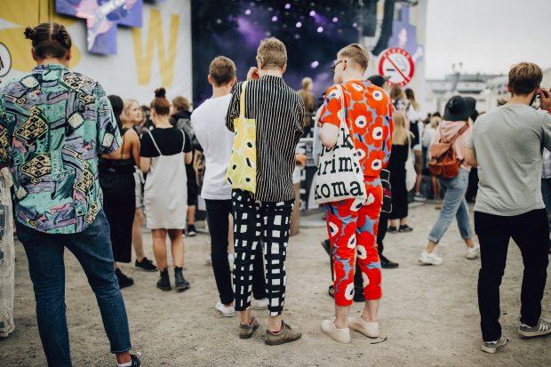 Flow Festival (Helsinki, Finlândia), público. Foto: Miia Närkki / divulgação