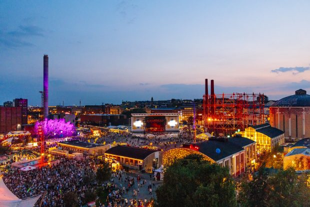 Flow Festival, Helsinki, Finlândia. Foto: Petri Anttila / divulgação