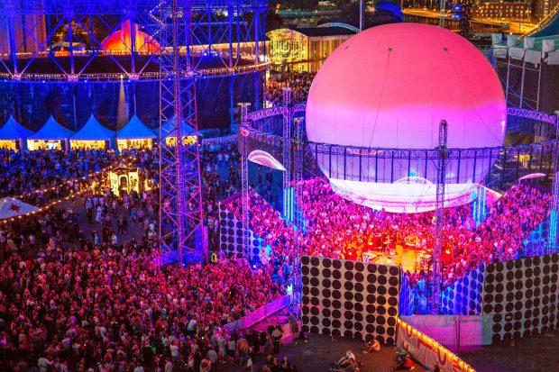 Flow Festival - palco Ballon. Foto: Jussi Hellsten / divulgação