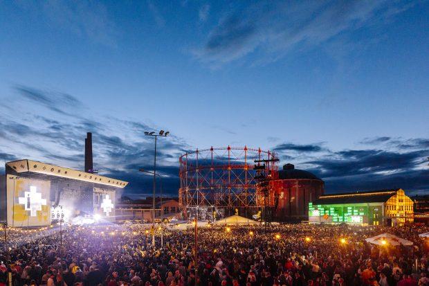 O palco principal do Flow Festival. Foto: Petri Anttila / Divulgação