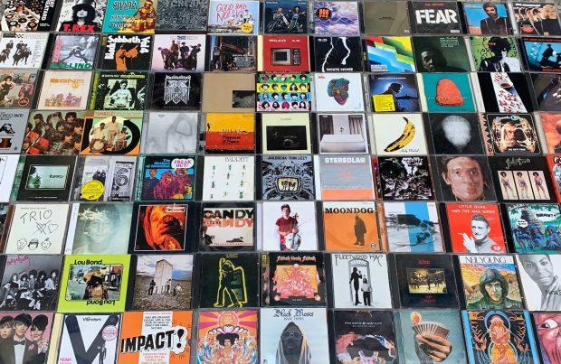 A Coleção de CDs do Miranda / Foto: divulgação