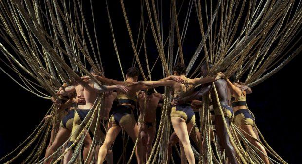 A Companhia Deborah Colker apresenta nova versão do espetáculo Nó. Foto: Flávio Colker