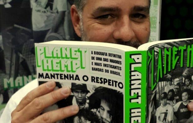 Livro Planet Hemp: Mantenha o Respeito, de Pedro de Luna